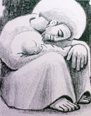 Richard Mehren - Śpiący Józef