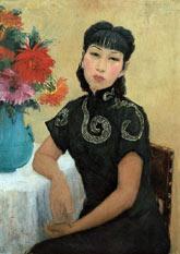Autoportret 1940 r - olej