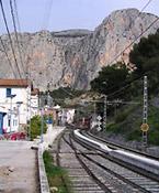 stacyjka w El Chorro
