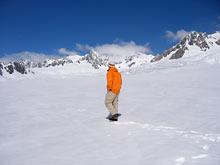 Spacer po śniegu