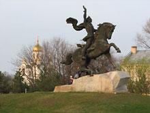 Tyraspol - pomnik Aleksandra Suworowa - fot. R.Simaczenko
