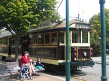 tramwaj w Christchurch
