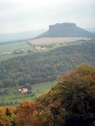 Widok z twierdzy Königstein