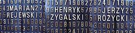 Fragmenty poznańskiego pomnika kryptologów