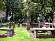 cmentarz przy kościele św. Mikołaja