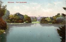 Warszawa– Park Ujazdowski / 1913 r.