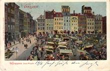 Warszawa - Stare Miasto. Wysłana w 1901 r.