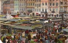 Warszawa– Stare Miasto. Karta sprzed 1916 r.