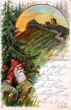 Śnieżka. Karta wysłana w 1899 r.