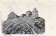 Śnieżka. Karta wysłana w 1909 r.