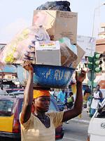na ulicy w Akrze
