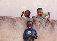 Ghana - dzieci na ulicy