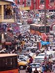 uliczne korki w Kumasi