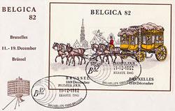 Koperta z wystawy Belgica 82