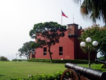 Fort San Domingo w Danshui
