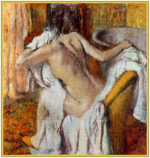 Edgar Degas 1890-95 - After the Bath